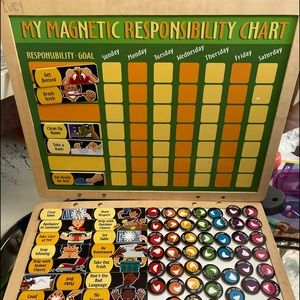 Melissa and Doug responsibility magnetic chart